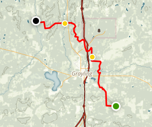 4-Mile Trail Camp to Goose Creek Trail Camp Map