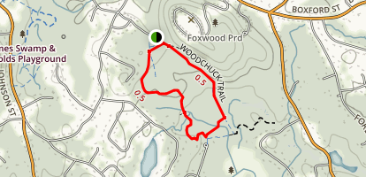Woodchuck Trail Map