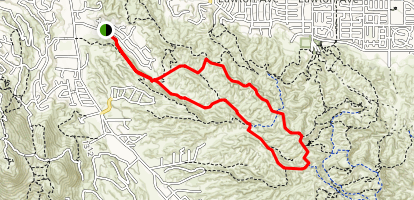 Hidden Bear Trail Map