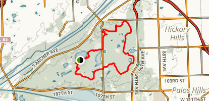 Palos Yellow Trail Loop Map