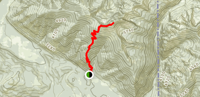Scotchman Peak Trail Map