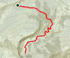 Independence Lakes Trail Map