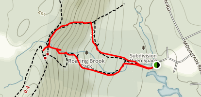 Roaring Brook Falls Trail Map