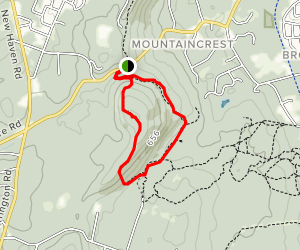 Mount Sanford Loop Map