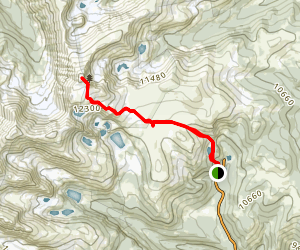 James Peak Trail Map