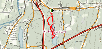 Ross's Cliff Trail Map