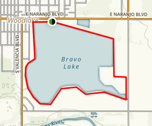 Bravo Lake Trail Map