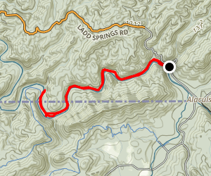 Conasauga River Trail Map