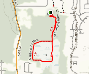 Wet Woods and Marsh Loop Trail Map