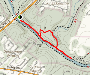 Gunpowder Pond Trail Map
