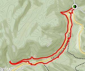 Switchback and Old Cloudcroft Highway Trail Map