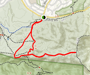 Hidden Valley Overlook Map