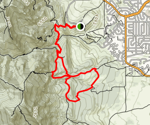 NCAR Mesa Trail Shanahan Loop Map