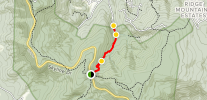 Hickerson Hollow Trail Map
