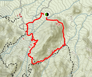 Indian Hollow-Pine Tree Loop Trail Map