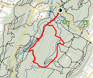 River, Overlook and Balls Bluff Trail Loop Map