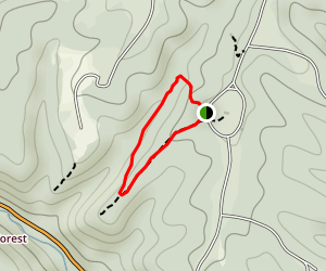 Beechwood and G Trail Loop Map