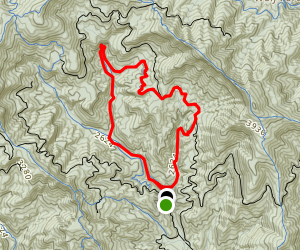 Black Mountain Loop Trail Map