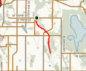 Soos Creek Trail via Boulevard Lane Park Map