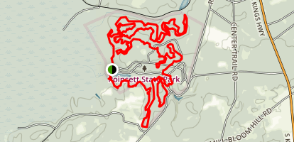 Poinsett Loop Map