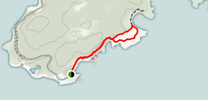 Louisburg Lighthouse Trail Map