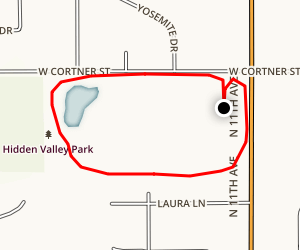 Hidden Valley Park Map