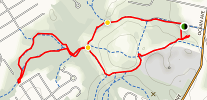 Quarry Run Loop Map