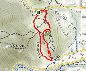 Red Rocks Trail Map