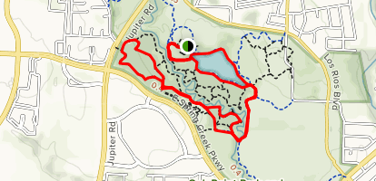 Willow Springs and Bobcat Run Loop Map