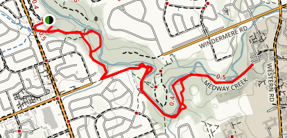 Medway Forest Trail Map