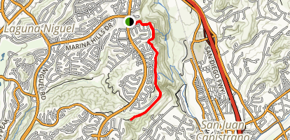 Colinas Ridge Trail Map