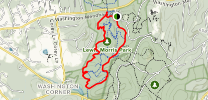 Lewis Morris Park Map Lewis Morris Yellow Trail   New Jersey | AllTrails