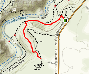 Rope de Dope Trail Map