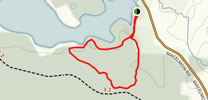 MacElmon's Pond Trail Map