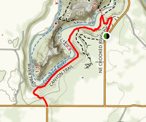 Canyon Trail Map