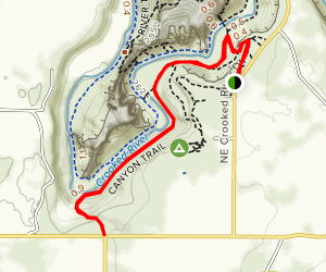 Smith Rock State Park Canyon Trail - Oregon | AllTrails on devils tower trail map, table rock lake topographic map, smith rock climbing map, smith rock hiking map, table rock state park map, crater of diamonds state park map, blue mountain reservation trail map, smith rock oregon map, smith mountain lake map, seneca rocks trail map, smith rock hiking trails, smith rock camping, oregon state parks map, rock island trail map, fahnestock state park map, point dume trail map, newberry national volcanic monument trail map, alabama hills trail map, smith rock misery ridge, spy rock trail map,