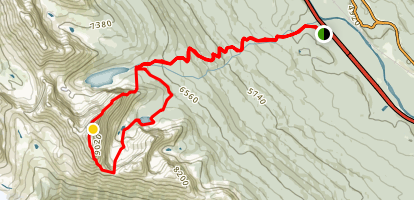 Mount Bell  Map