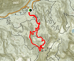 Peruvian Gulch-Blackjack Trail Map