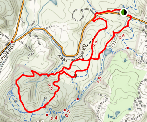 Meadowlark and Ohlone Trails Loop Map