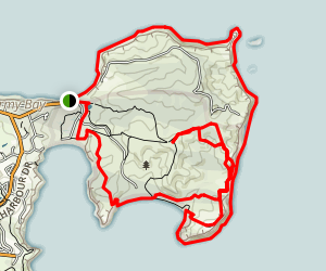 Shakespear Regional Park Loop Map