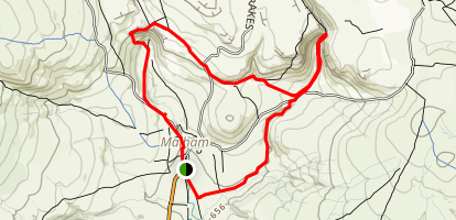 Malham Circuit Map
