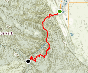 Colorado Trail : Segment 1 Map