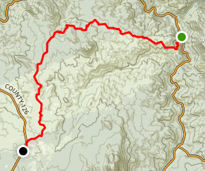 Colorado Trail : Segment 2 Map