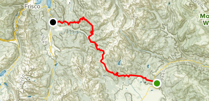 Colorado Trail : Segment 6 Map