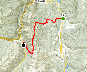 Colorado Trail : Segment 7 Map