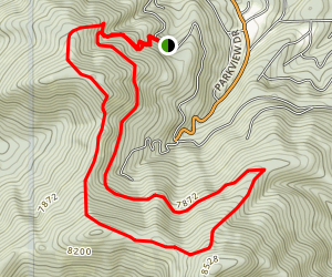 Overeasy Loop Trail Map