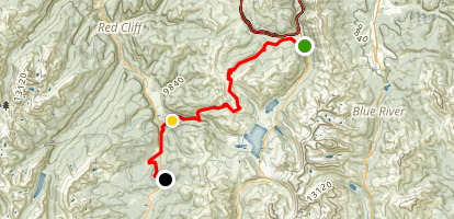 Colorado Trail : Segment 8 Map