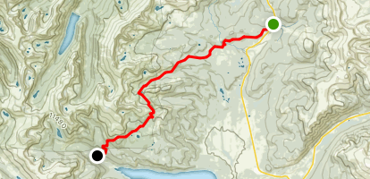 Colorado Trail : Segment 9 Map
