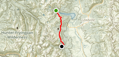 Colorado Trail : Segment 10 Map