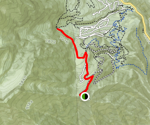 Stewart Falls from Bearclaw  Map